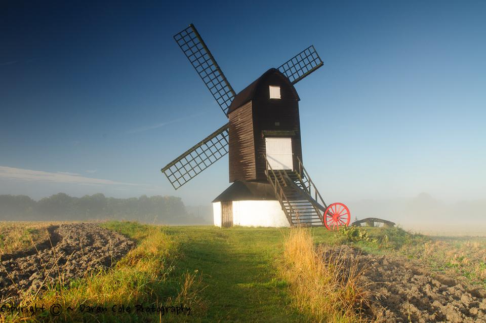 Windmill - Blue Sky