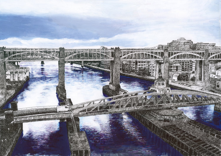 Swing and High Level Bridges