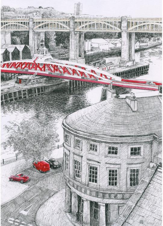 Swing Bridge, Red