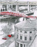 Swing Bridge, Red