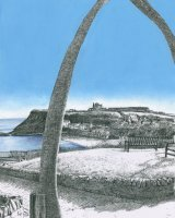 Whitby Whale Bone