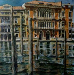 Venice Grand Canal Mid-day