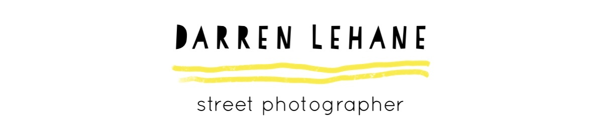 Darren Lehane.  Street Photographer.