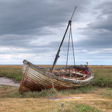 Abandoned on Thornham Marsh