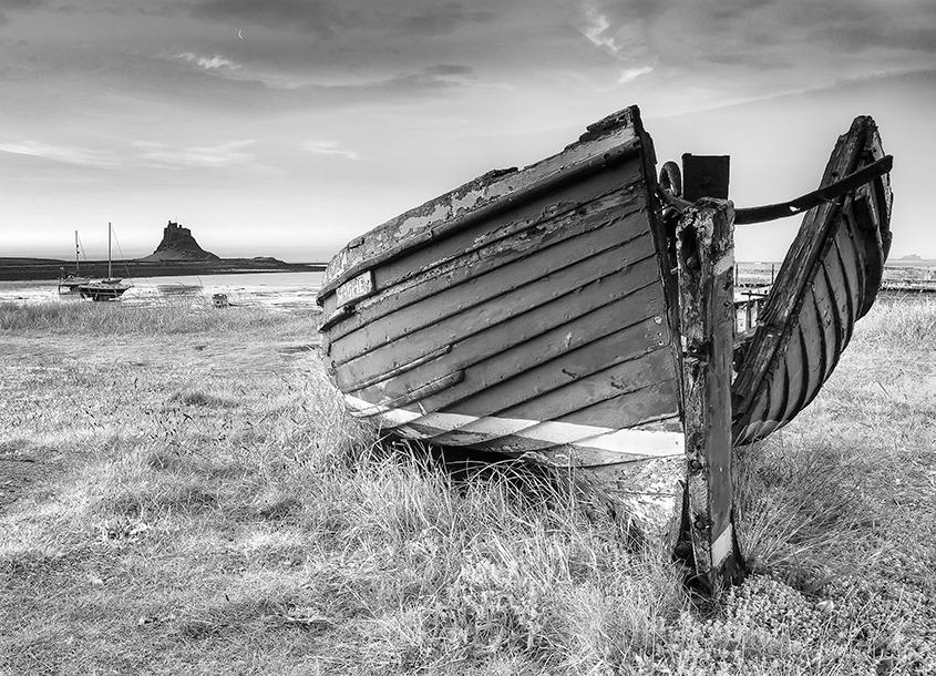 Abandoned on Lindisfarne