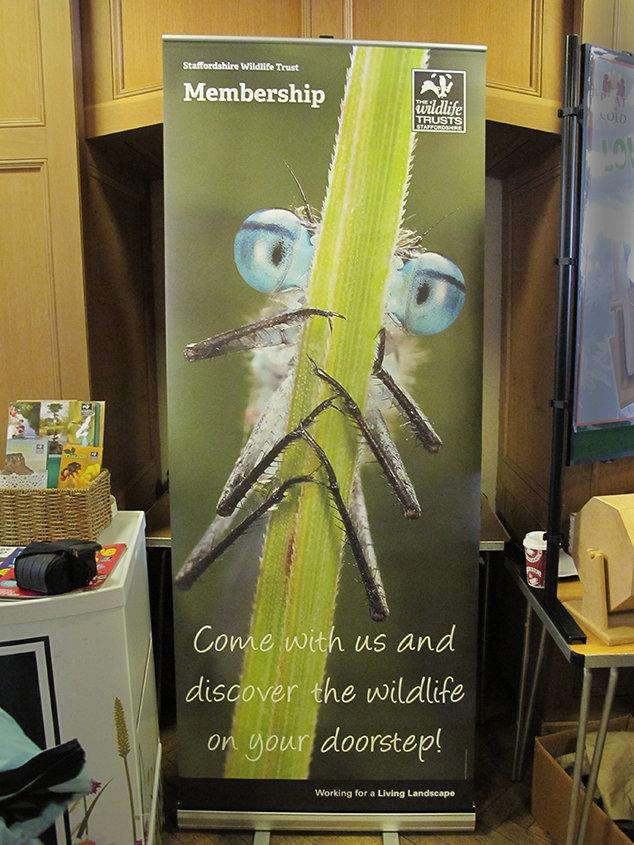 Promoting Staffordshire Wildlife Trust