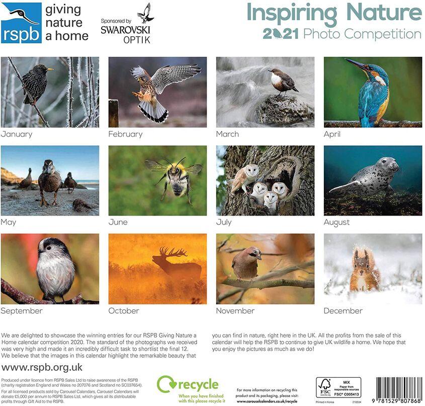 RSPB Inspiring Nature 2021 June