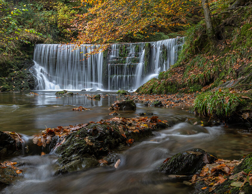 Lower Stock Ghyll Falls Ambleside 02