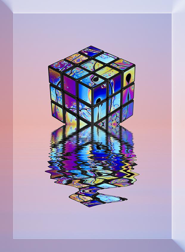 Psychedelic Rubik 02