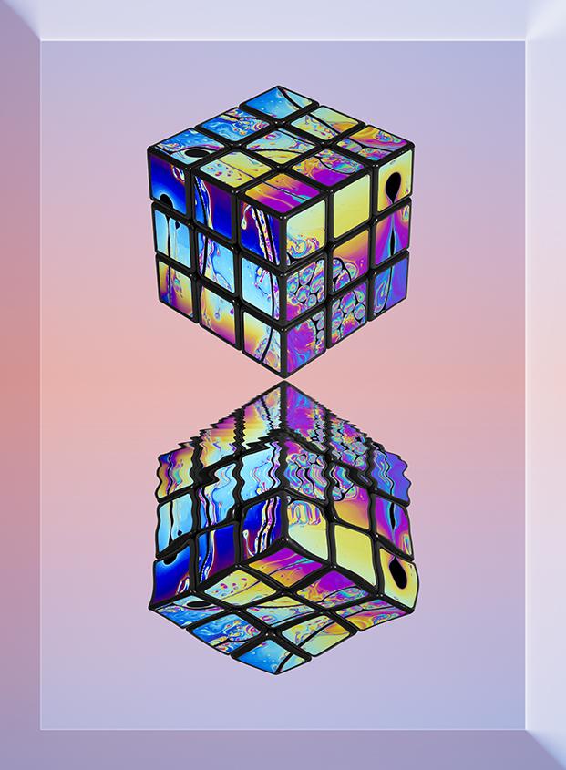 Psychedelic Rubik 03