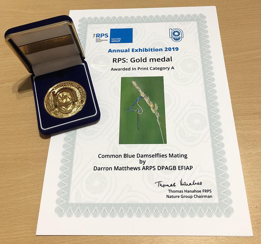 RPS Nature Gold Medal