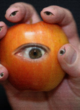 The eye of your apple
