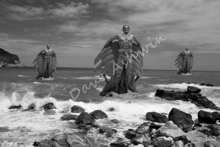 Sea statue