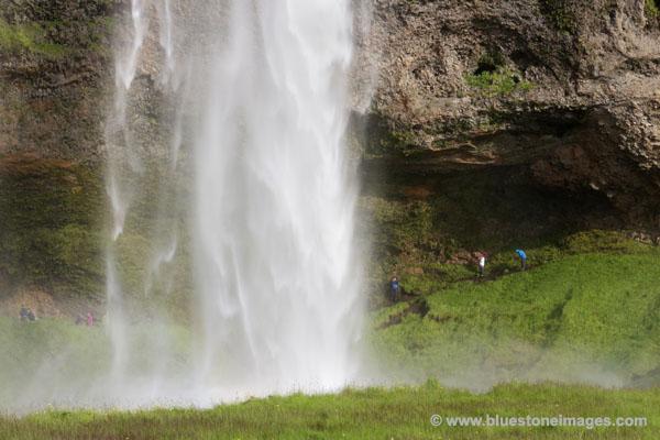 01M-0761 Seljalandsfoss Waterfall Near Hvolsvollur Iceland