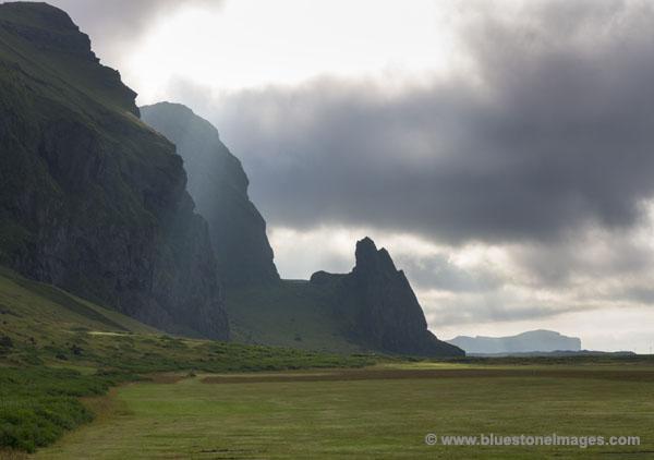 Cliffs at Vik Iceland