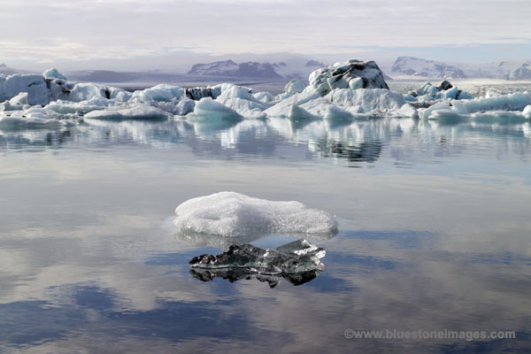 01M-1015a Jokulsarlon Glacial Lagoon Vatnajokull National Park Iceland.