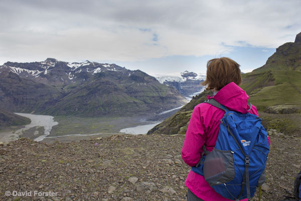 01M-1123 temp Morsarjokull From the Plataux on the Way up the Mountain of Kristínartindar Skaftafell Iceland