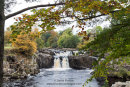 02M-9088 Low Force on the River Tees in Autumn Upper Teesdale County Durham UK