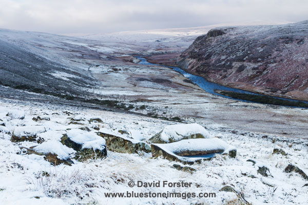 03M-0791 The River Tees From Man Gate on Cronkley Fell Upper Teesdale County Durham UK