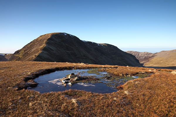 04D-2091 The Mountain of Crag Hill from the Summit of Sail Lake District Cumbria UK