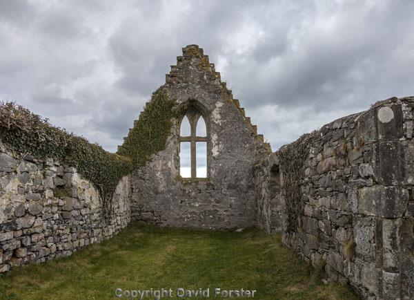 06D-7017 The Ruined Balnakeil Church Near Durness Scotland UK