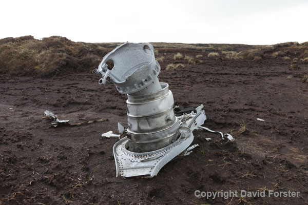 06D-8518 Aircraft Wreckage from a Gloster Meteor NF11 (Serial No WD778)