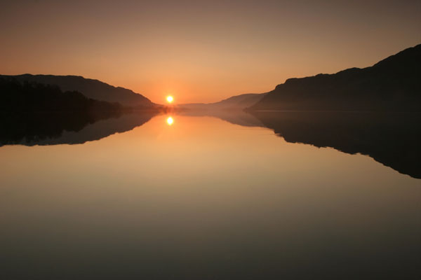 07-9638 Ullswater Sunrise Lake District Cumbria