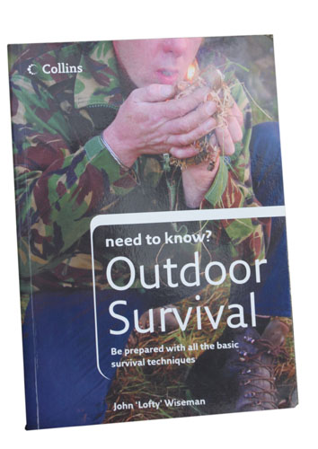 Book Front Cover: Outdoor Survival by John (Lofty) Wiseman: <br>