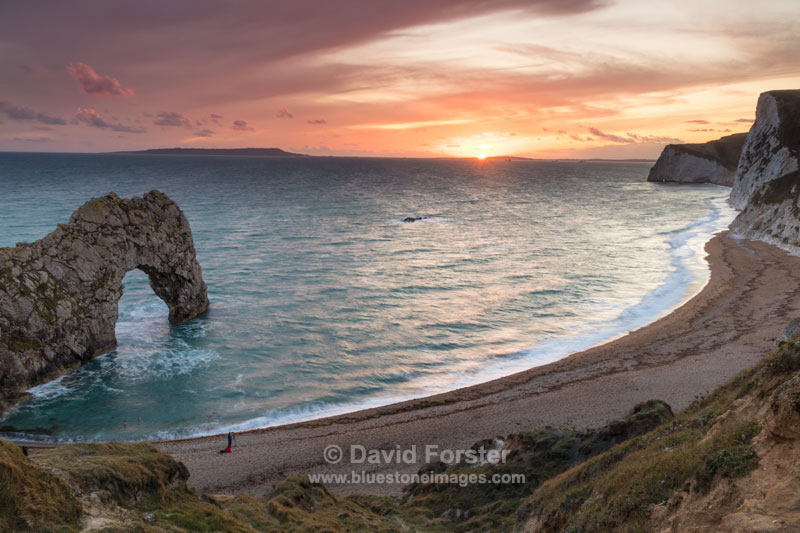 Sunset, Durdle Door, Dorset, UK