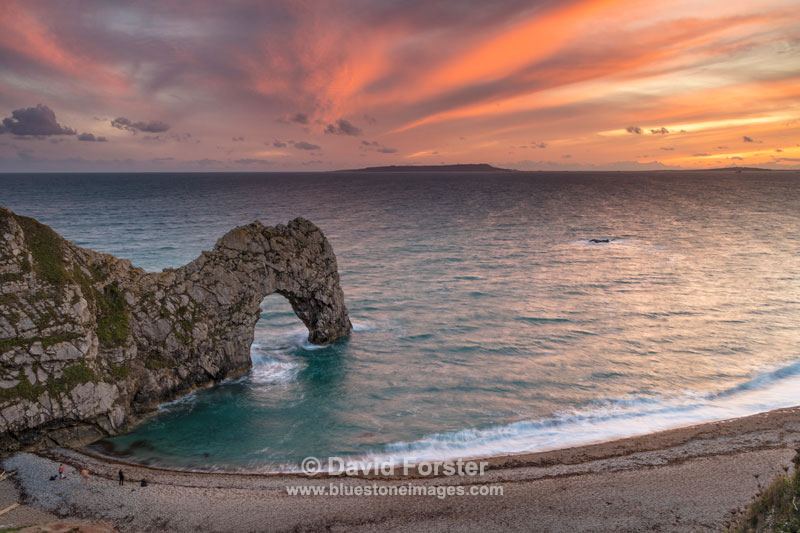 Sunset, Durdle Door, Dorset, UK