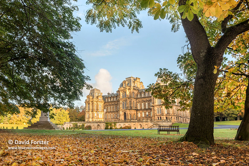 Autumn Colours, the Bowes Museum, Barnard Castle, County Durham