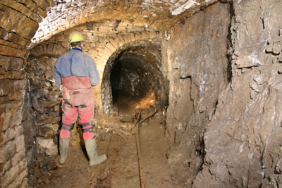D9-1.24 Mine Passage, Brownley Hill Mine Nenthead, Cumbria