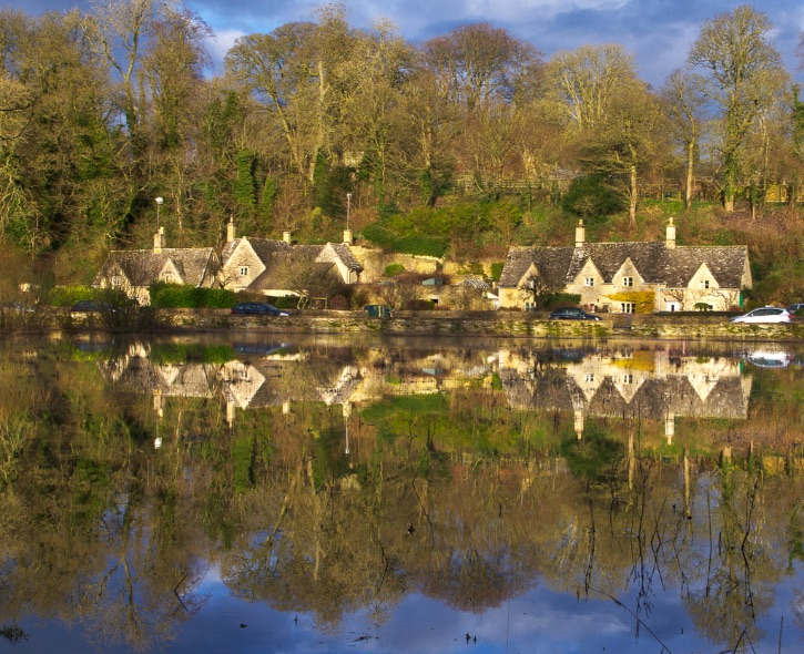 Bibury cottages 2