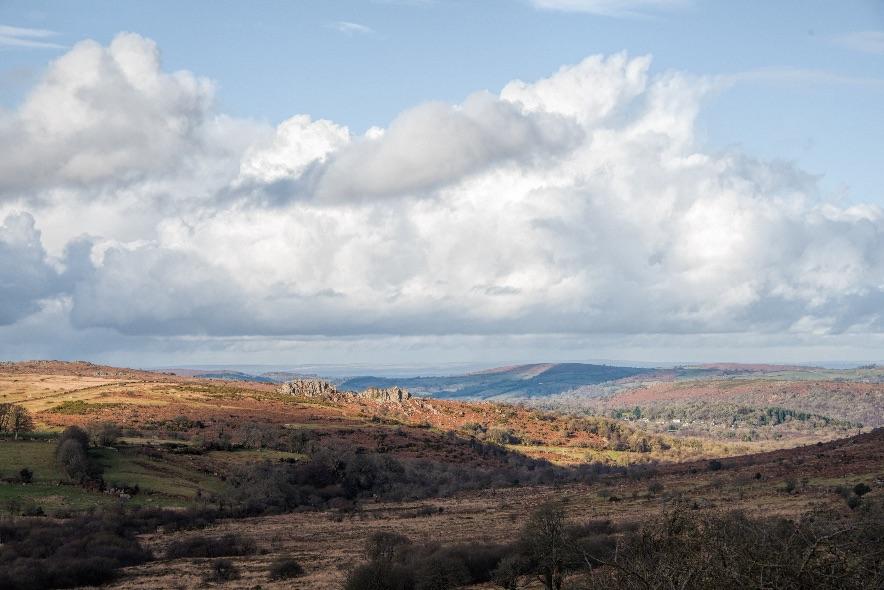 Dartmoor from Saddle Tor