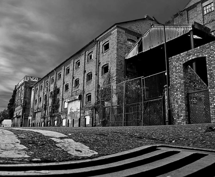 Disused warehouse