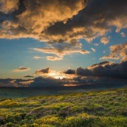 Saddle Tor sunset 2