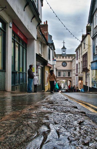 Totnes high street