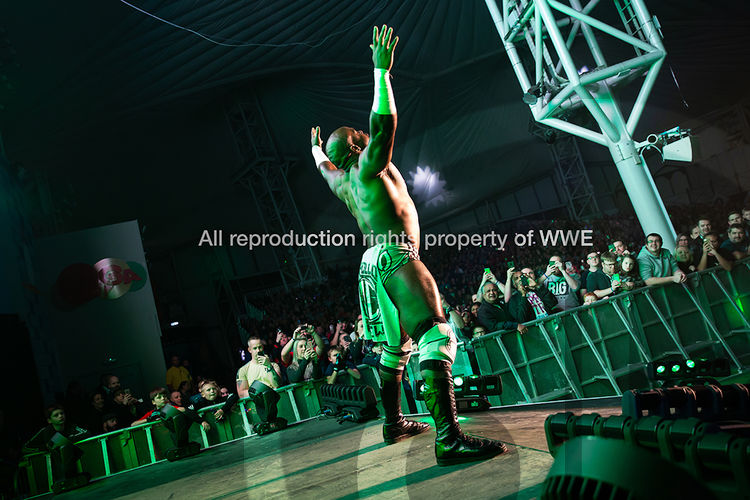 For GL Events UK, providers of seating on WWE tour