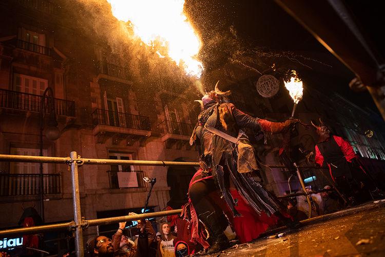 Correfoc Festival, Palma, Mallorca