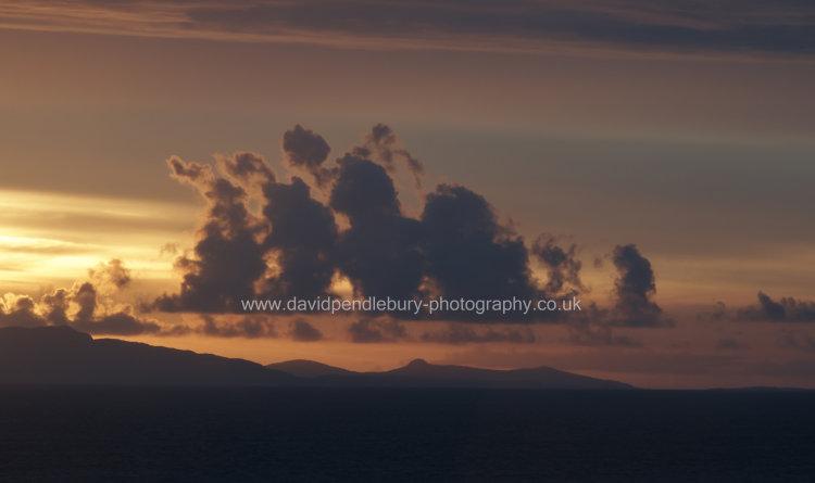Cloud Formation Over Glendale Village Isle Of Skye