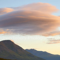 Cloud Formation Over Mountains Of Skye