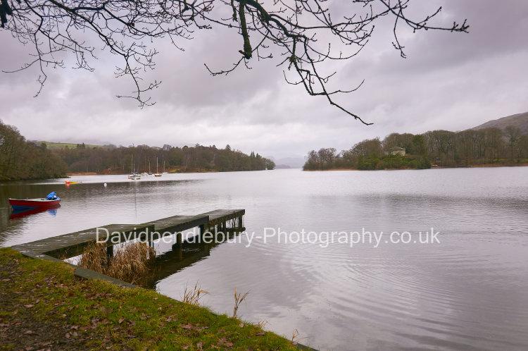 Coniston Water The Lakes Cumbria