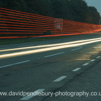 Light Trails Daresbury Warrington