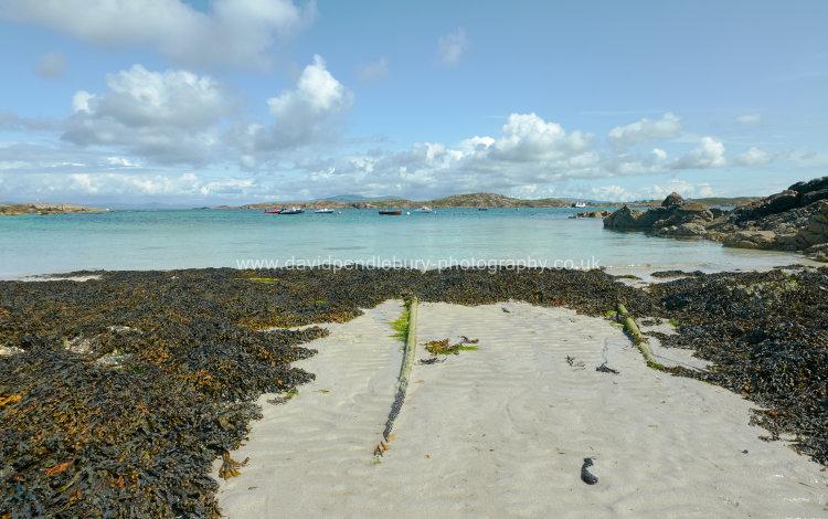 Iona Beach Facing Mull