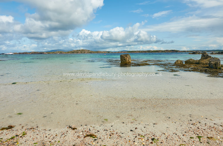 Beach On The Island Of Iona Off Mull