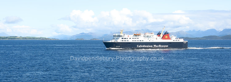The Ferry From Oban To Mull