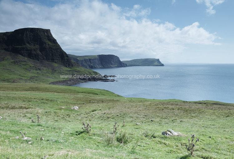 Neist Point Coastal View Isle Of Skye