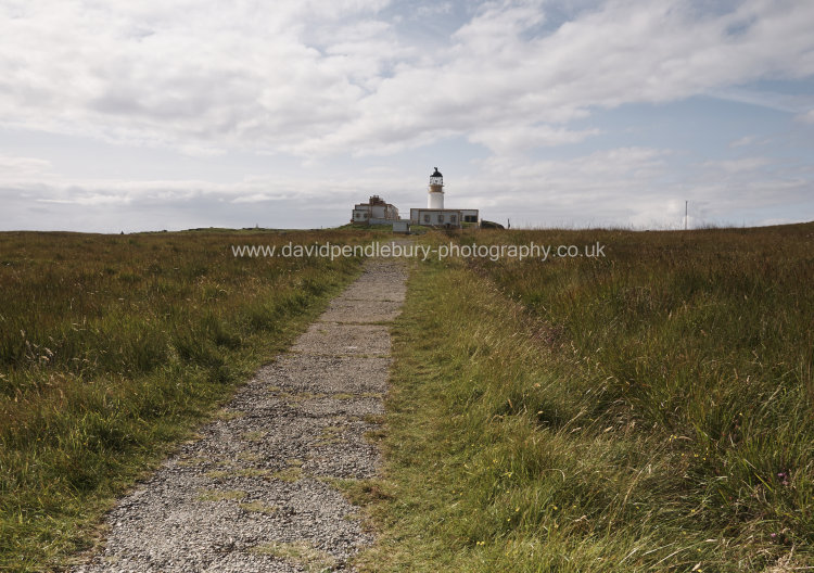 Neist Point Lighthouse Path View