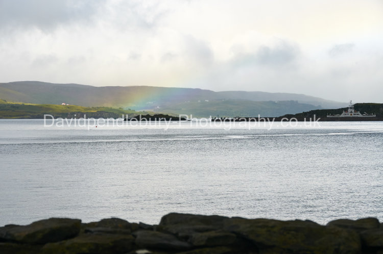 Rainbow Captured On Skye From Raasay