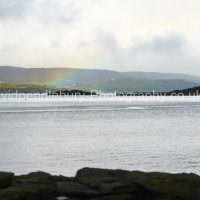Rainbow Captured On Skye From Raasay
